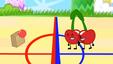 S2e1 cherries throws a ball at box