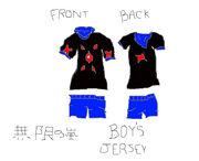 Mugen No ARashi Boys Jersey