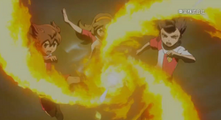 Fire Tornado TC in the movie Trailer