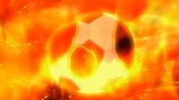 A Soccer Ball Burning CS 5 HQ