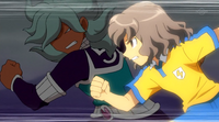 Shindou trying to stop CS 21 HQ
