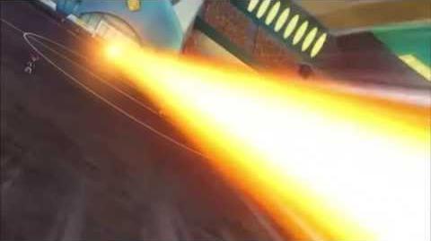 Inazuma Eleven GO Galaxy Episode 30 イナズマイレブンGO ギャラクシー 30 Kazan Gun VS Dead Straight