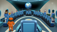 Galaxy Nauts Gou passengers seeing Earth EP43 HQ