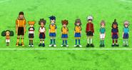 Shinsei Inazuma Japan school soccer uniforms HQ