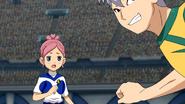 Sakura shocked at her wrong pass EP06