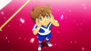 Tenma thanking soccer EP43 HQ