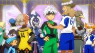 Kazerma, Junior, Kusaka, Minaho, Shinsuke and Arbega talking EP43 HQ