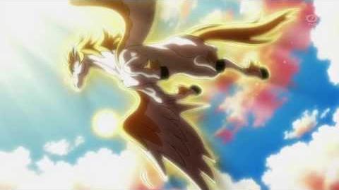 Inazuma Eleven GO Galaxy (Soul Pegasus Arashi Tatsumaki Hurricane) HD