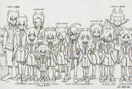 Sazanaara Eleven height chart in Galaxy Databook