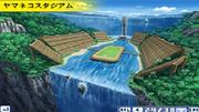 Mountain lion stadium game artwork