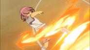 Arata using Fire Tornado HQ