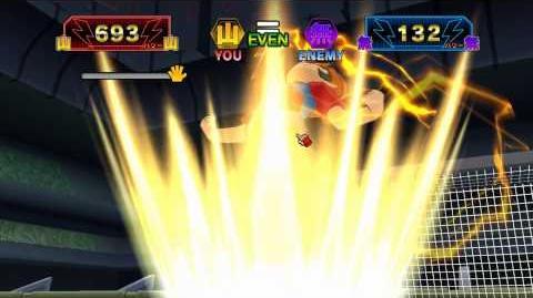 (イナズマイレブンオンン)Inazuma Eleven 3 Online god catch(ゴッドキャッチ)
