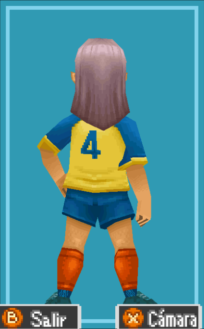 Kageno Back View Raimon