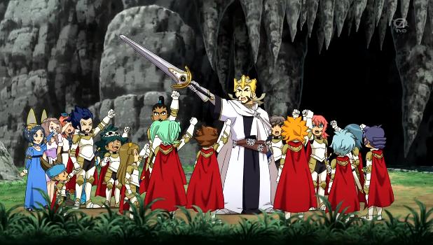 Chevaliers De La Table Ronde Wiki Inazuma Eleven Fandom Powered By Wikia