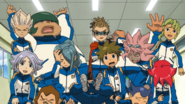 Inazuma Japan in IE 71 HQ