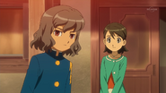 Shindou at Tenma's house