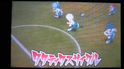 Inazuma Eleven GO 2 Chrono Stone Tactics Cycle