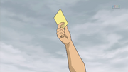 Fudou getting yellow card IE 38 HQ