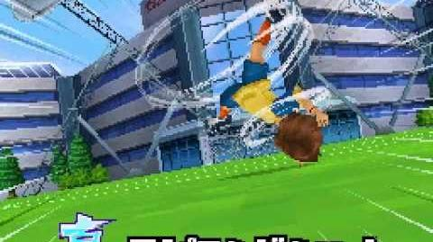 Inazuma eleven 3 Challenge to the world - Spinning Shoot