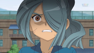 Kazemaru scared of Genesis