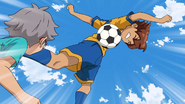 Tenma trying to get the ball GO 6 HQ
