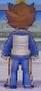 Tenma Back View Raimon Jacket GO Game