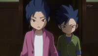 Young Yuuchi and Young Kyousuke