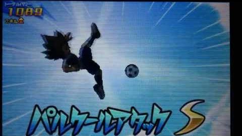 Inazuma Eleven GO 3 Galaxy Parkour Attack