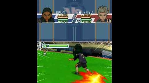 Inazuma eleven 3 spark Zig zag flame