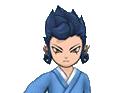 Tsurugi with Okitas clothing CS talk sprite.png