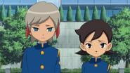 Ichino and Aoyama return to the team HQ