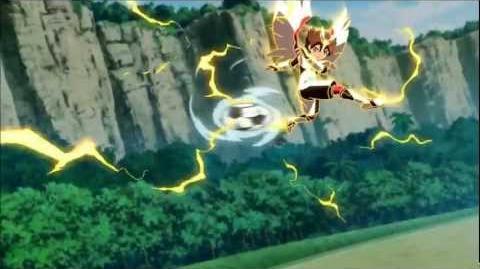 Inazuma Eleven Go 2 Chrono Stone - Tenma's Kenshin Armor HD