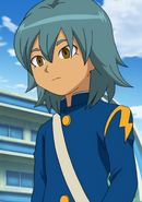 Kariya in Raimon uniform