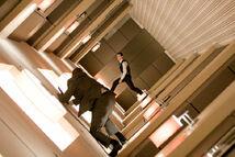 Rotating Hallway Fight