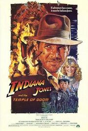 Indiana Jones and the Temple of Doom PosterB-1-