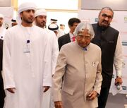 With Dr. APJ Abdul Kalam to the venue