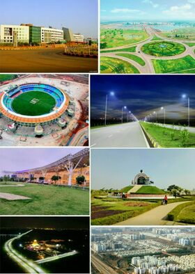 Famous places and landmarks of Naya Raipur