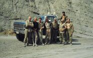 Indiana Jones Last Crusade stunt crew