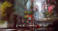 Downtown-seattle-infamous-second-son-artwork