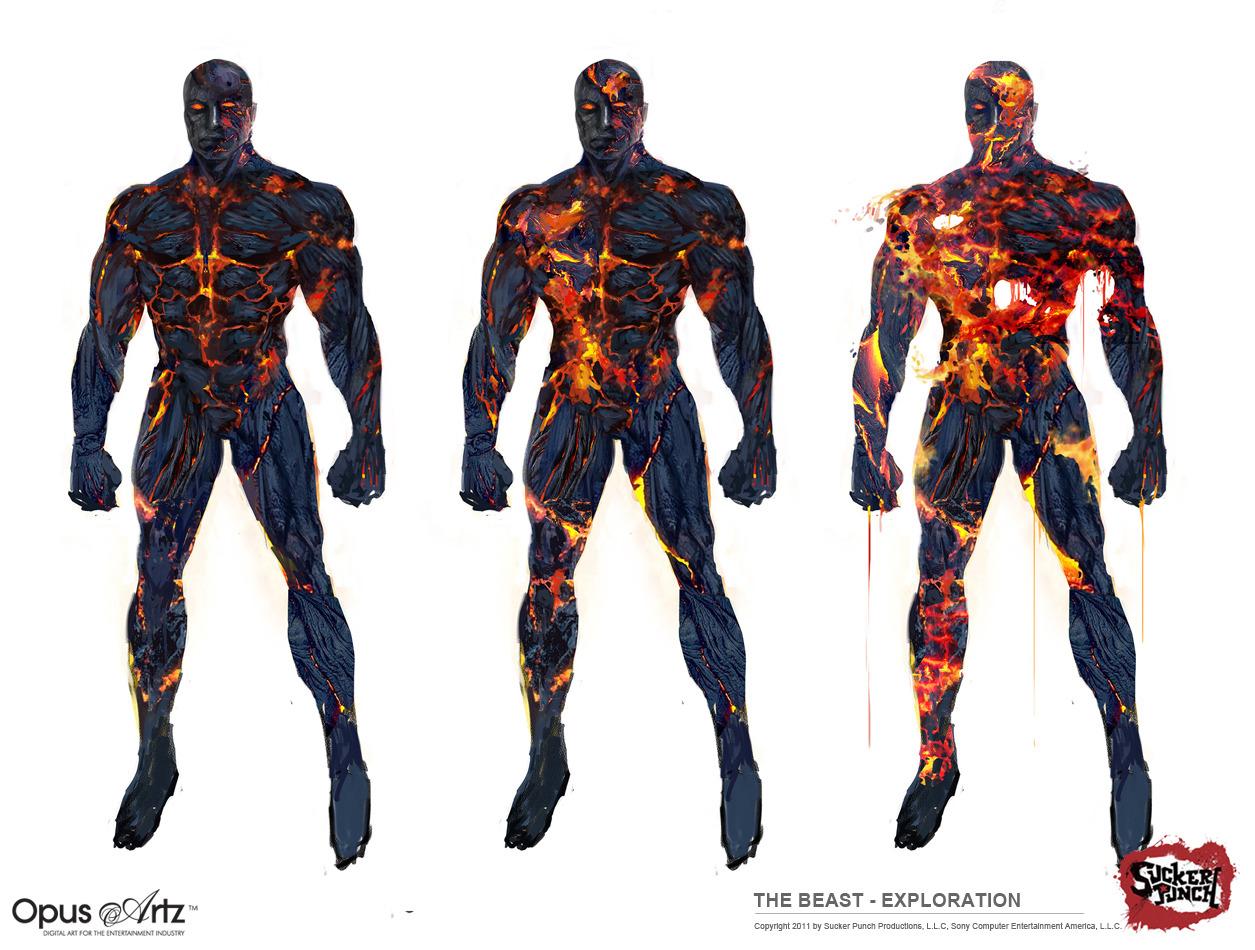 Image - Beast Art.jpg | InFAMOUS Wiki | Fandom powered by ...