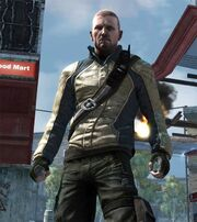 Cole's Jacket in infamous