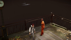 Delsin spares Hank's life (Good Karma)