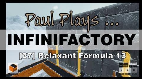 INFINIFACTORY - 27 - Relaxant Formula 13