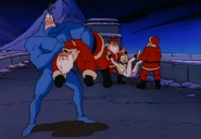 The Tick Beating The Tar Out of Santas