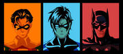 Dick Grayson's looks