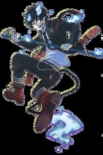 Rin okumura render by railgunlv5-d3gbfal