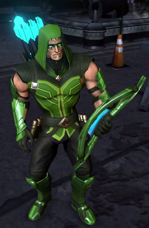 Green Arrow Character Model 2