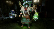 Northern Light Arcane Green Lantern