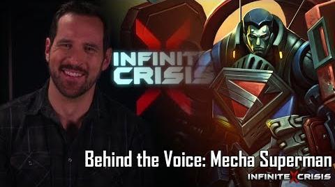 Behind the Voice Mecha Superman