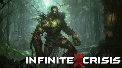 Champion Unmasked Swamp Thing
